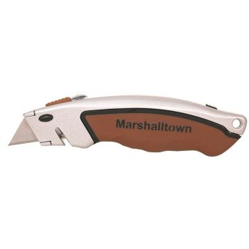 Marshalltown Soft Grip Utility Knife-Butterfly Storage - M9059