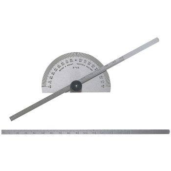 Moore & Wright Protractor Type Depth Gauge Metric/Imperial - MAW44