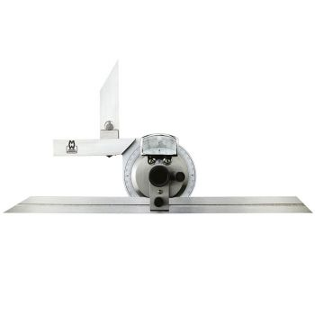 Moore & Wright Universal 360° Bevel Protractor with 150/300mm Blades - MAW50001