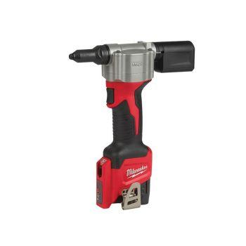 Milwaukee M12 BPRT-201X Pop Rivet Tool Kit 12V 1 x 2.0Ah Li-Ion - MILM12BPRTX