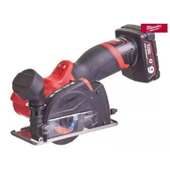 Milwaukee M12 FCOT-622X FUEL Cut Off Tool Kit 12V 1 x 2.0Ah & 1 x 6.0Ah Li-ion - MILM12FCOT6X