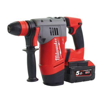 Milwaukee M28 CHPX-502C FUEL SDS+ Hammer Drill 28V 2 x 5.0Ah Li-Ion - MILM28CHPX5F