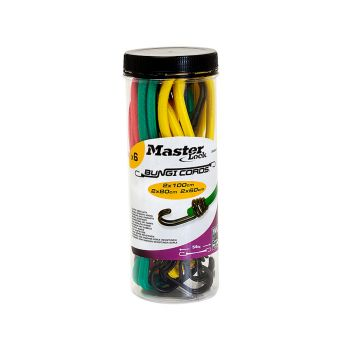 Master Lock Bungee Jar 12 Pieces - MLK3107E