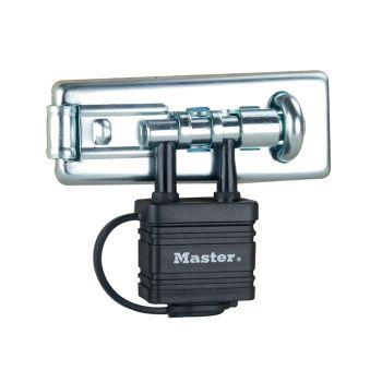 Master Lock Bolt Hasp with Integrated Lock 110mm - MLK471