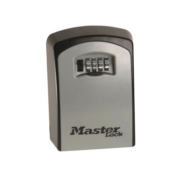 Master Lock 5401E Large Wall Mounted Key Lock Box (Up To 5 Keys) - Black - MLK5403E