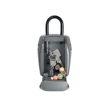 Master Lock 5414E Portable Shackled Combination Reinforced Security Key Lock Box - MLK5414E