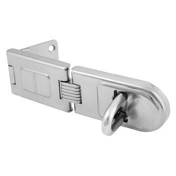 Master Lock Wrought Steel Single Hinged Hasp 200mm - MLK721