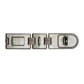 Master Lock Wrought Steel Double Hinged Hasp 200mm - MLK722