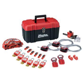 Master Lock Valve & Electrical Lockout Toolbox Kit 23-Piece - MLKS1117VKA