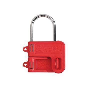 Master Lock Two Padlock Lockout Hasp - 4mm Shackle - MLKS430