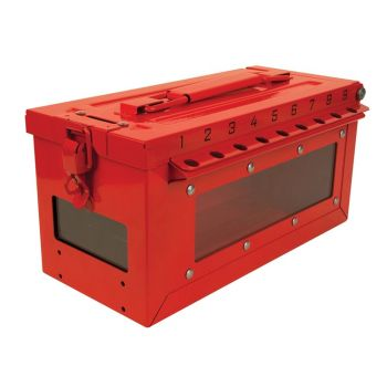 Master Lock Group Lock Box with Window - MLKS601