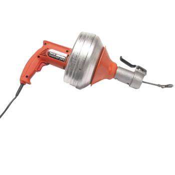 Monument General Wire Spring 240v Super Vee Drain Cleaner With 1 Cable - MONSVF240V