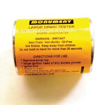 Monument Drain Tester Smoke - MON1462G