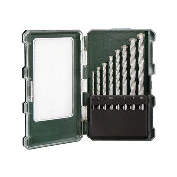 Metabo Masonry Drill Set 8 Piece 3-10mm - MPT626706