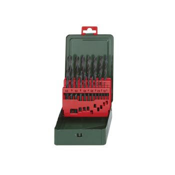 Metabo HSS-R Drill Bit Set of 19 1-10mm - MPT627151