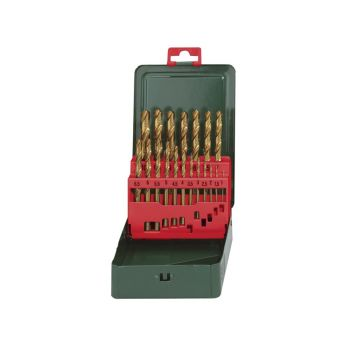 Metabo HSS-Tin Drill Bit Set 19 Piece - MPT627156