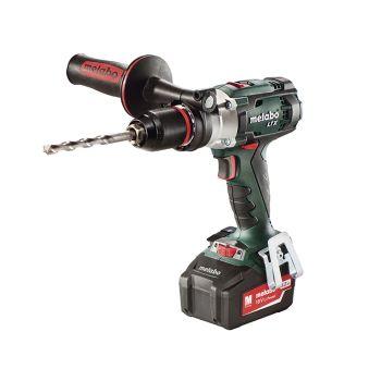 Metabo SB18 LTX Impulse Combi Hammer Drill 18V 2 x 5.2Ah Li-Ion - MPTSB18LTX5