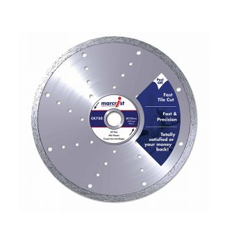 Marcrist Diamond Blade Smooth Tile Cut 300 x 30mm Machine - MRCC750300
