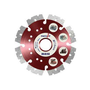 Marcrist Fastest Universal Cut Diamond Blade 230 x 22.2mm - MRCMI850230
