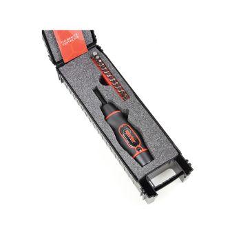 Norbar Torque Screwdriver Kit 1.2-6.0Nm 1/4in Hex - NOR13702