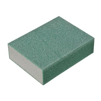 Oakey Liberty Green Sanding Block Fine/Medium (1) - OAK58593