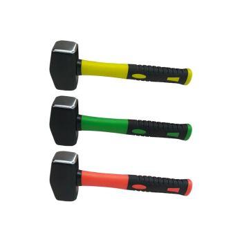 Olympia Hi-Vis Fibreglass Club Hammer 1.1kg (2.5lb) - OLY60126