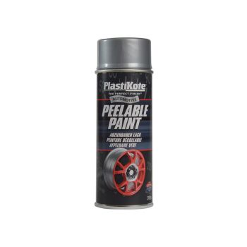 PlastiKote Peelable Paint Silver 400ml - PKT116007