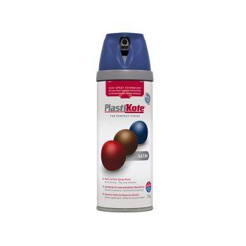 PlastiKote Twist & Spray Satin Night Navy 400ml - PKT22111