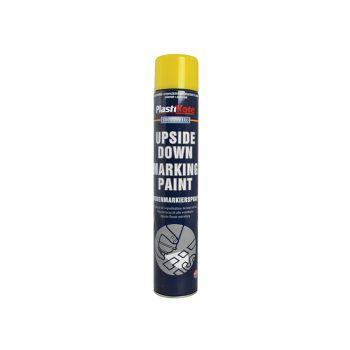 PlastiKote Upside Down Marking Paint, Yellow 750ml - PKT6002