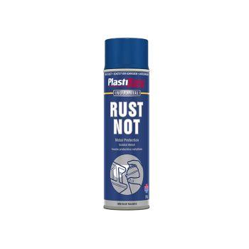 PlastiKote Rust Not Spray Matt Midnight Blue 500ml - PKT787