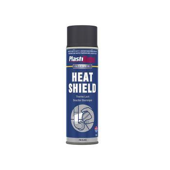 PlastiKote Industrial Heatshield Spray Black 500ml - PKT796