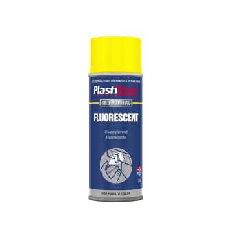 PlastiKote High Visibility Spray Yellow 400ml - PKT797