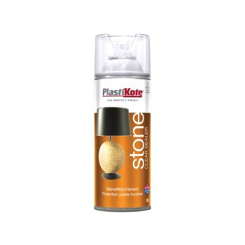 PlastiKote Stone Touch Spray Clear Sealer 400ml - PKT9432