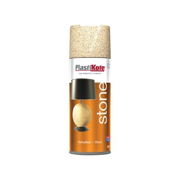 PlastiKote Stone Touch Spray Alabaster 400ml - PKT9439