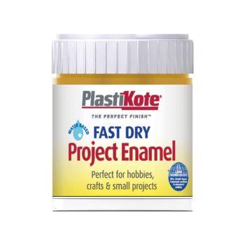 PlastiKote Fast Dry Enamel Paint B33 Bottle Brass 59ml - PKTB33W
