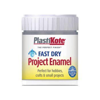 PlastiKote Fast Dry Enamel Paint B52 Bottle Pewter 59ml - PKTB52W