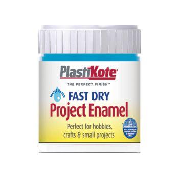 PlastiKote Fast Dry Enamel Paint B8 Bottle Sky Blue 59ml - PKTB8W
