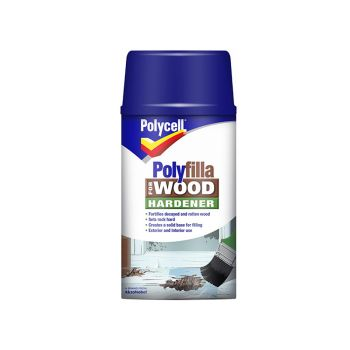 Polycell Polyfilla For Wood Hardener 250ml - PLCWH250