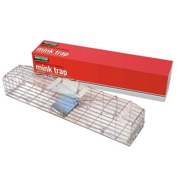 Pest-Stop Systems Mink Cage Trap 30in - PRCPSMCAGE