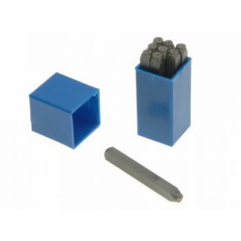 Priory 4.0mm Set of Number Punches 5/32in - PRIN532
