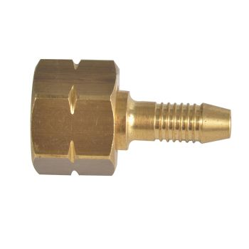 Sievert 3/8in Left Hand Nut & 6mm Tail - PRMB1022