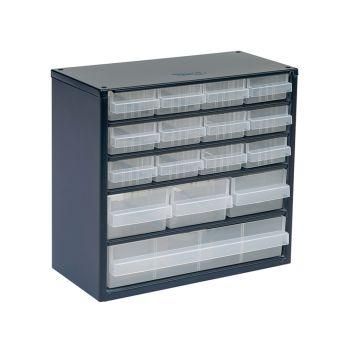 Raaco 616-123 Metal Cabinet 16 Drawer - RAA137560