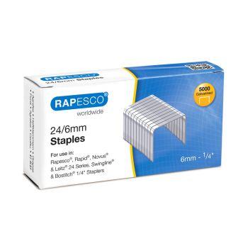 Rapesco 24/6mm (22/6) Galvanised Staples - S24602Z3