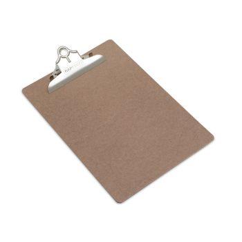 Rapesco Hardboard Clipboard, A4/Foolscap (brown) - VHBCB003