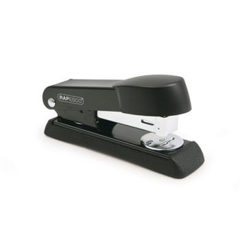 Rapesco Minno Half Strip Stapler (black) - A52600B3