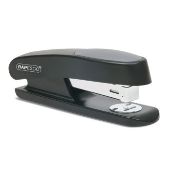 Rapesco Sting Ray Half Strip Stapler (black) - RR7260B3