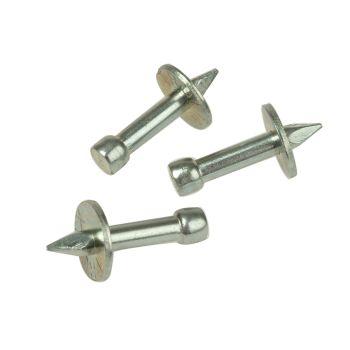 Rawlplug Washered Masonry Nails 3.7 x 25mm Pack of 100 - RAW04044