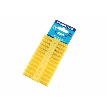 Rawlplug Yellow Uno Plugs 5mm x 24mm Card of 96 - RAW68500