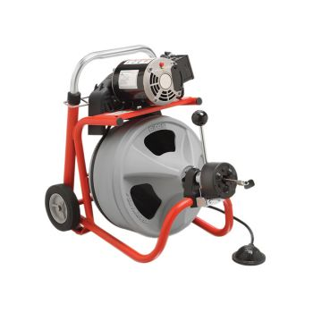 RIDGID K-400 AUTOFEED Drum Machine with C-32IW (Integral Wound) Solid Core Cable - RID28098