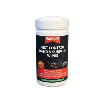 Rentokil Pest Control Hand & Surface Wipes - RKLFPW44